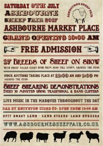 Ashbourne Sheep Fair 2017