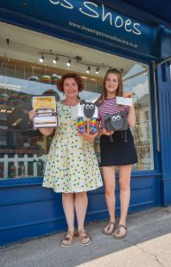 Stepping Stones Shoes - winners of the Shop Window Competition