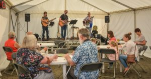 The Vernon Travellers entertain